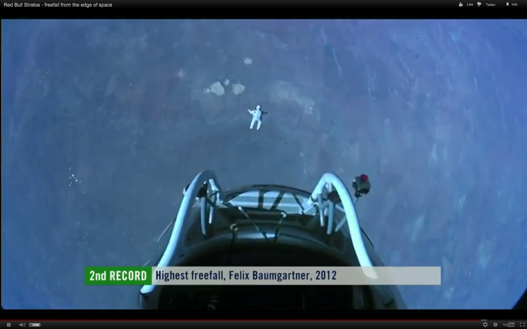 Fuck Yeah, Felix Baumgartner! (Screenshots & Video)