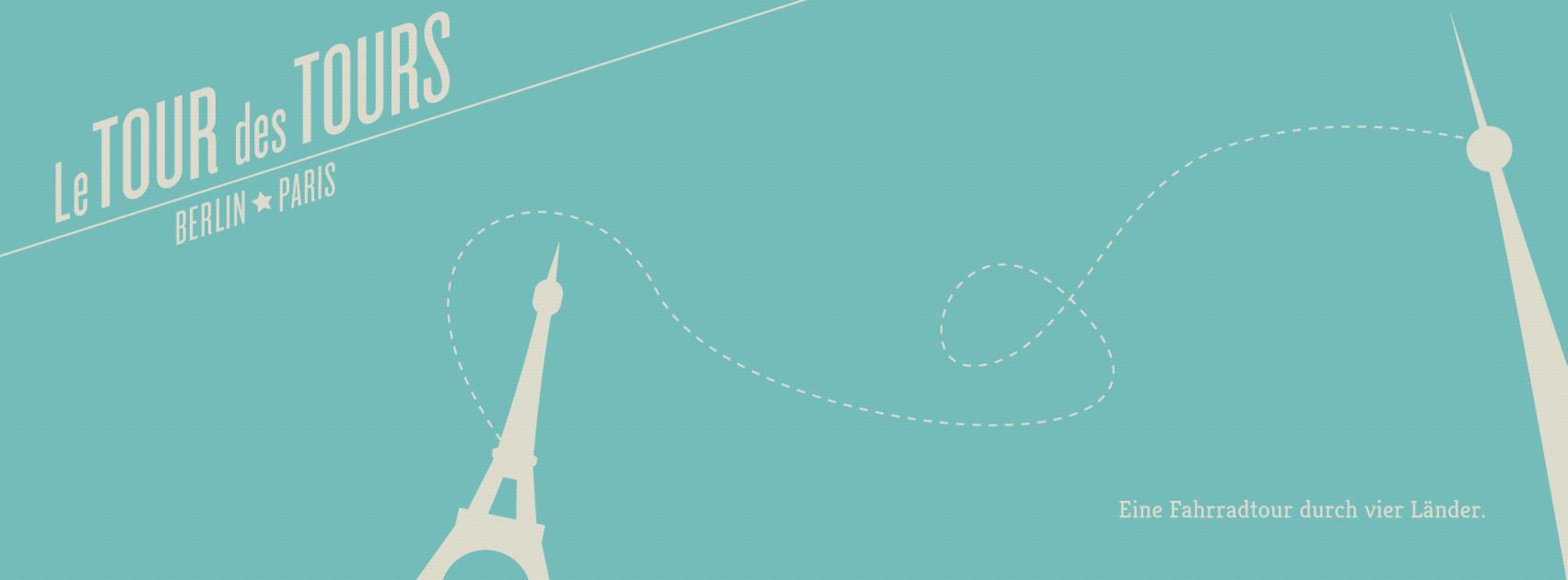 Le Tour des Tours – Mit dem Fahrrad von Berlin nach Paris (Route und App Empfehlungen)