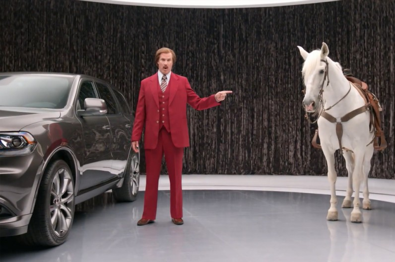 RON BURGUNDY Dodge Durano Commercial