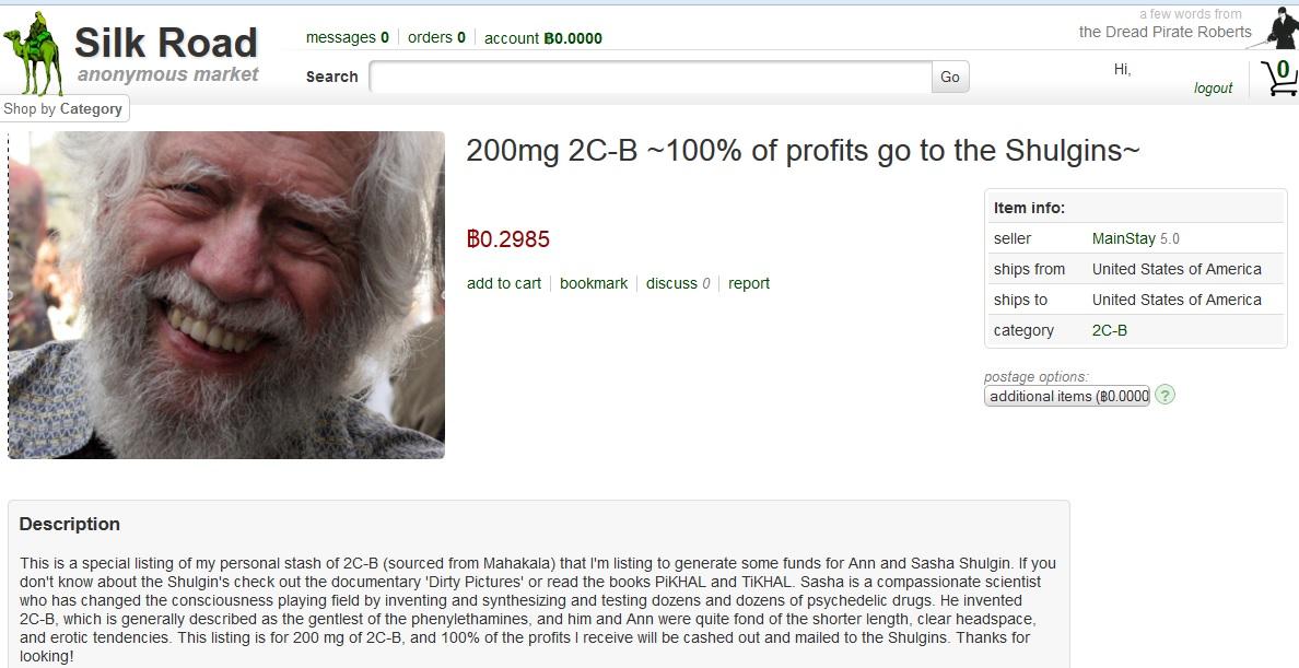 Drogendealer spenden Einnahmen an wohltätige Zwecke