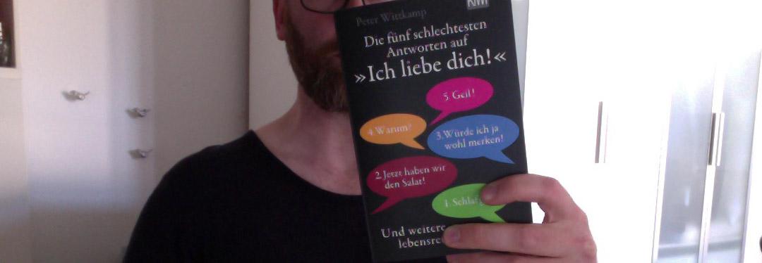 """Die fünf schlechtesten Antworten auf """"Ich liebe dich!"""": und weitere lebensrettende Listen"""