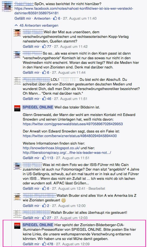Zionisten-Bilderberger-CIA-Illuminaten-Presseoffizier von SPIEGEL ONLINE,