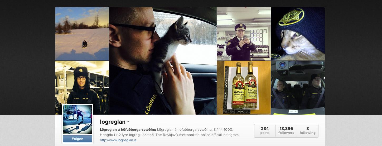 Instagramaccount der Polizei von Reykjavik ist voller Flausch und Süßigkeiten