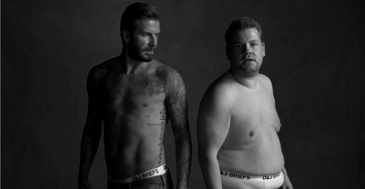 Wie David Beckhams ehrliche Werbung für Unterhosen aussehen würde