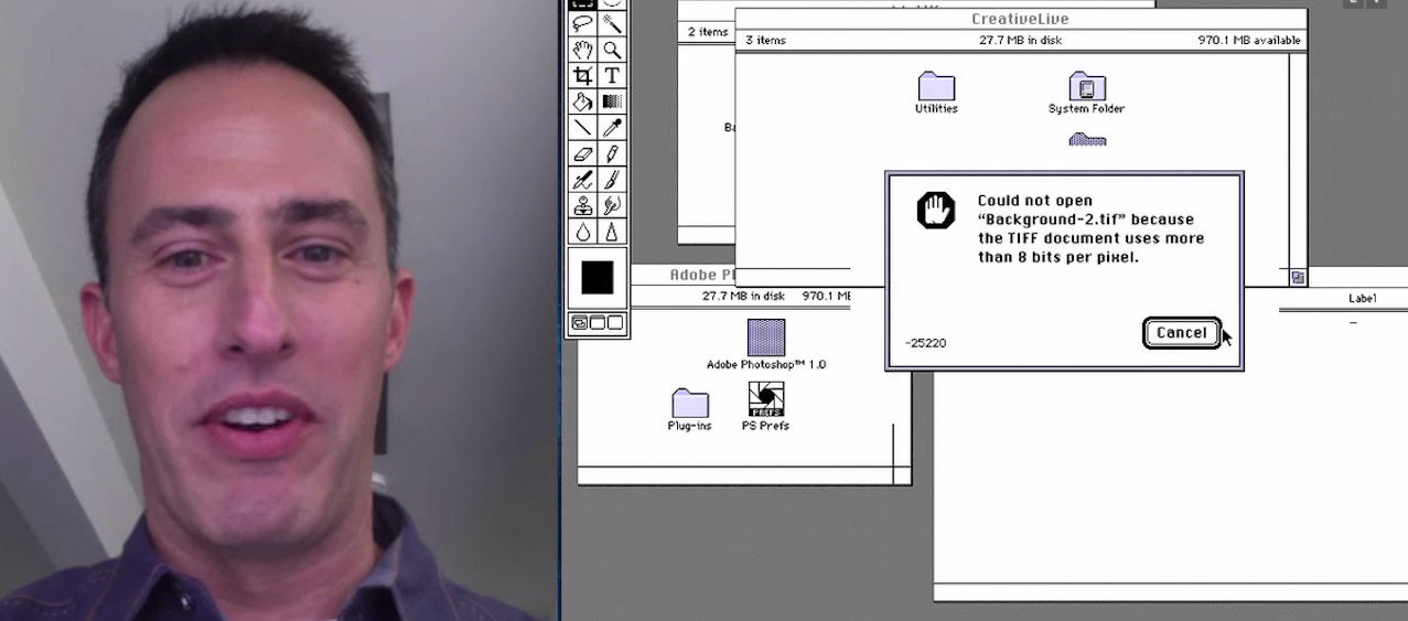 Photoshop Profis scheitern an Photoshop 1.0