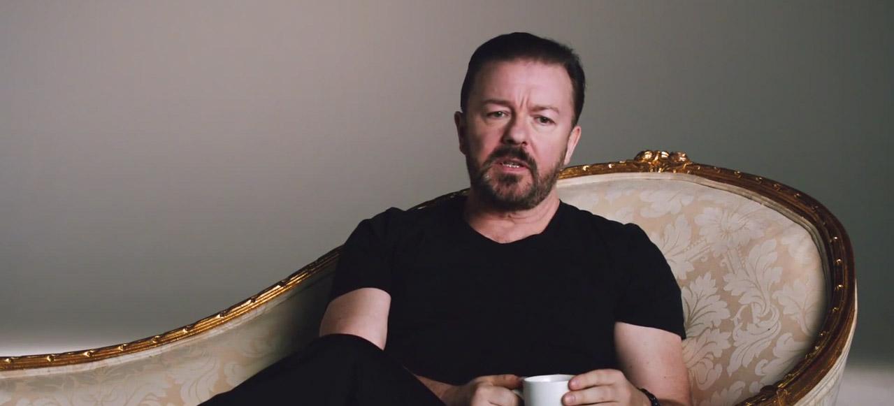 Ricky Gervais Optus Spot