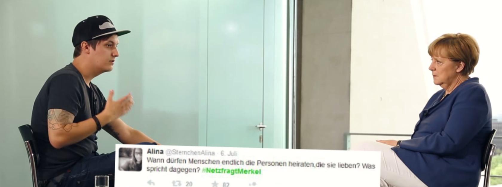 #NetzFragtMerkel