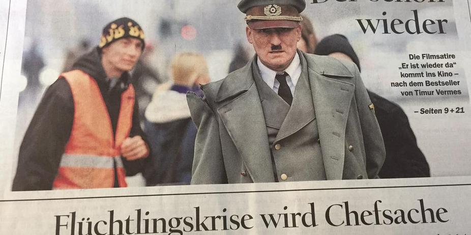 Tagesspiegel hat nicht richtig aufgepasst und lässt Hitler mal ran
