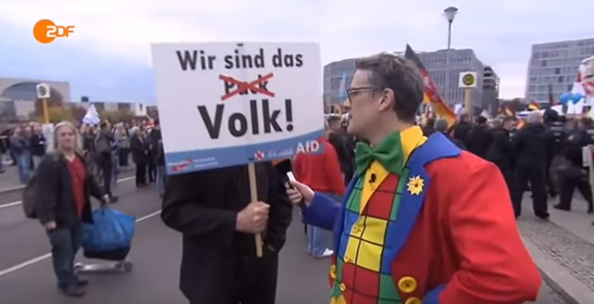 Kabelkas Lügenclown bei der AfD