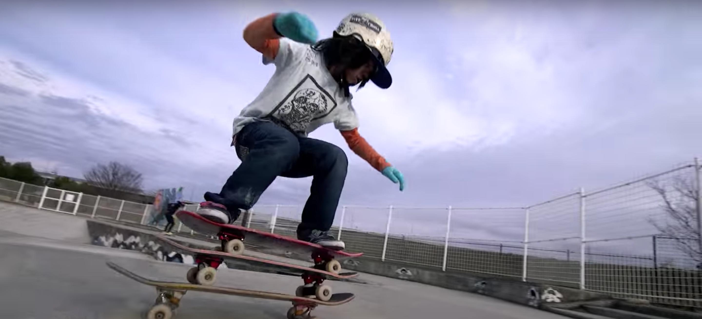 Zwölfjähriger Skateboardfahrer ist wahrscheinlich Gott