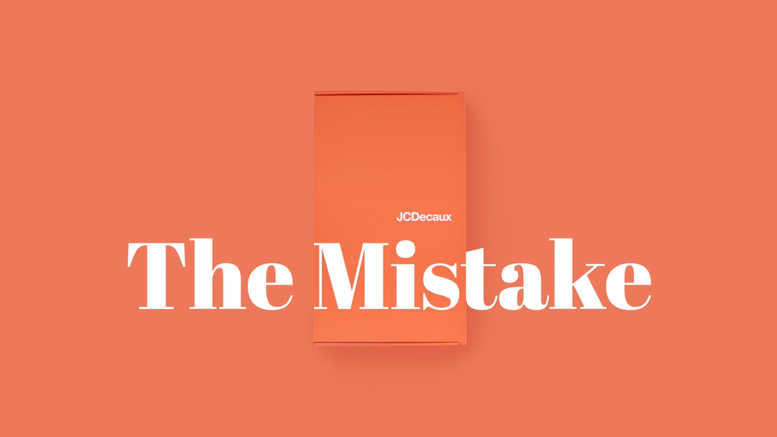 The Mistake – Einfach mal ein Mailing absichtlich verkacken